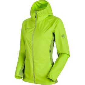 Mammut Keiko Light SO Hooded Jacket Women sprout-dark sprout
